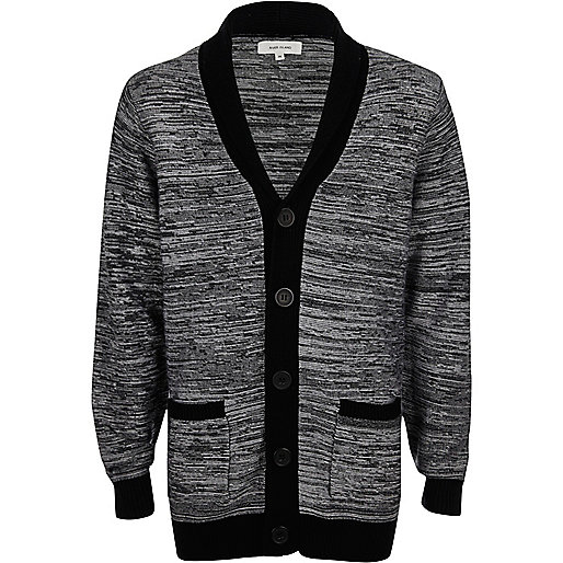 Top Brand Sales Cardigans For Boys Black Boys River Island Clothing