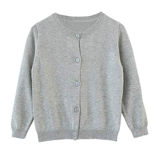 Amazon.com: Dutebare Baby Girls Long Sleeve Cardigans Toddler