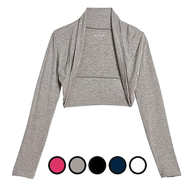 Amazon.com: KIDPIK Shrug Cardigans for Girls - Versatile Open Bolero