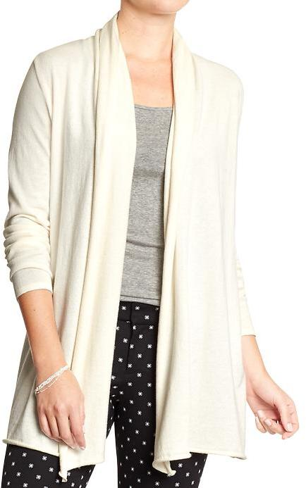 Old Navy Shawl Collar Open Front Cardigans, $36 | Old Navy