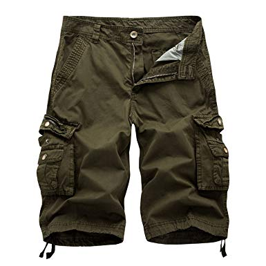 HAKJAY Men's Outdoor Camouflage Big and Tall Cargo Shorts | Amazon.com