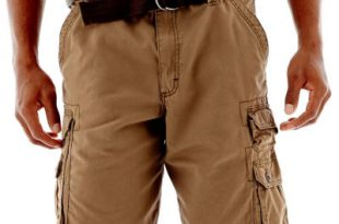 Twill Cargo Shorts View All Brands for Men - JCPenney