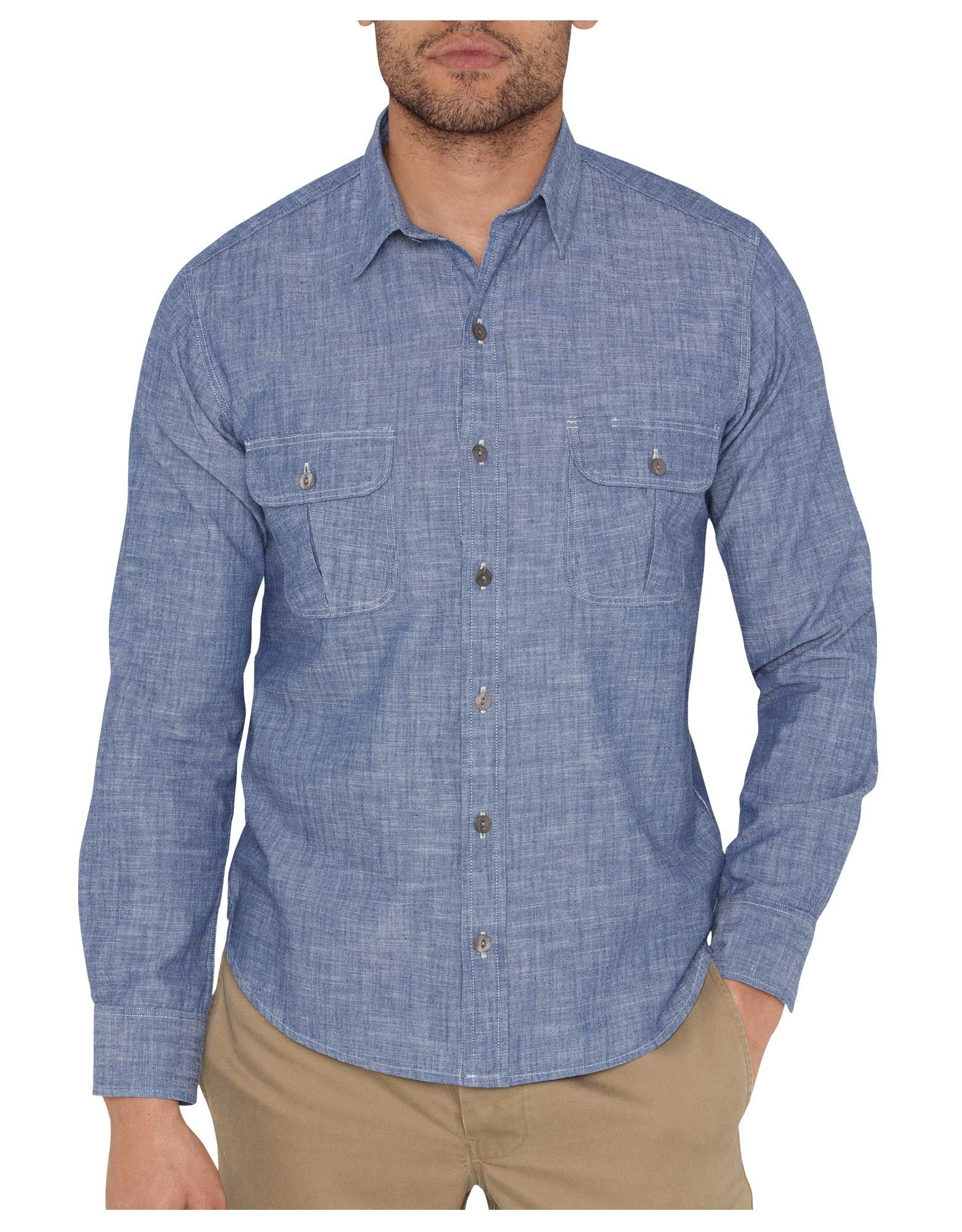 Dickies 1922 Chambray Shirt | Mens Shirts | Dickies