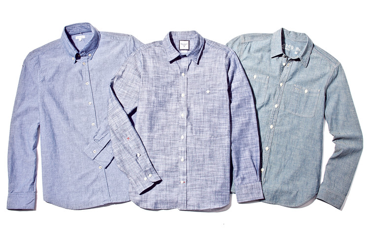Seeking the Perfect Men's Chambray Shirt - WSJ