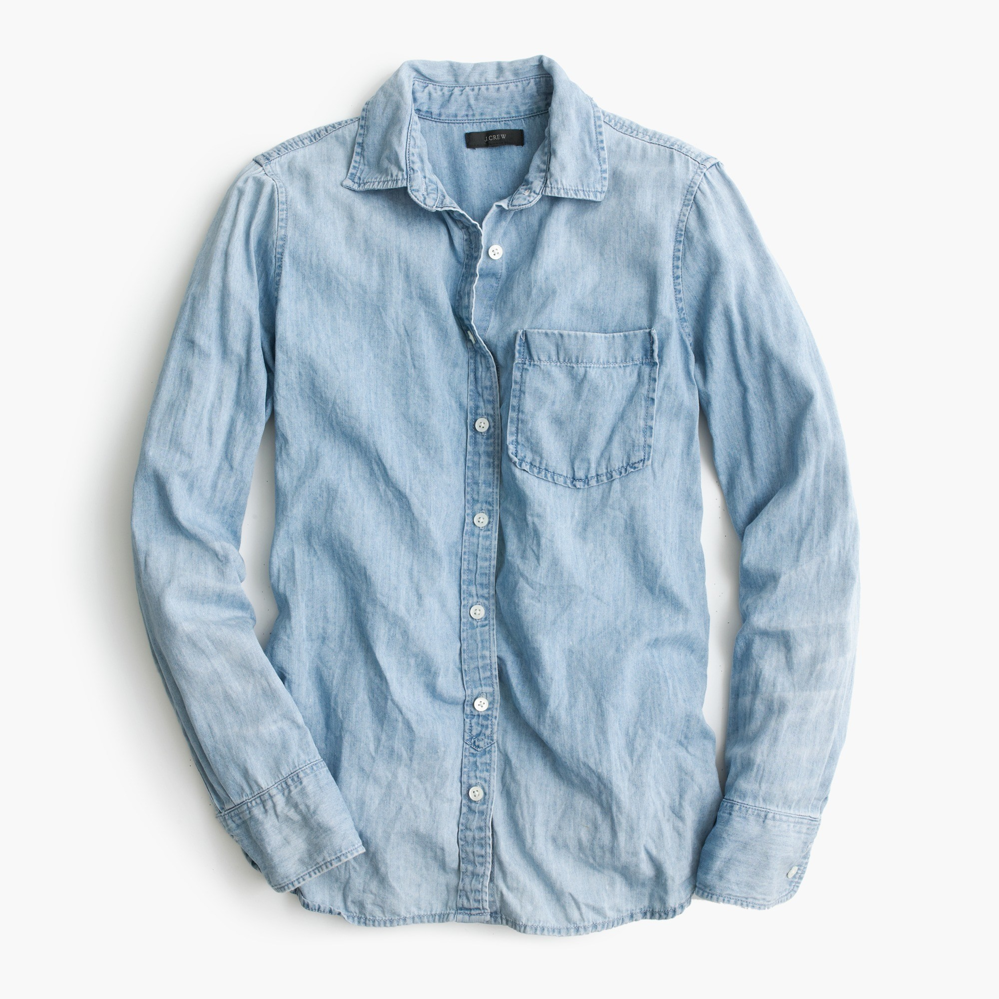 Always Chambray Shirt : Women's Shirts | J.Crew