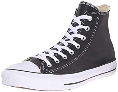 Amazon.com | Converse Women's Chuck Taylor All Star Leather High Top