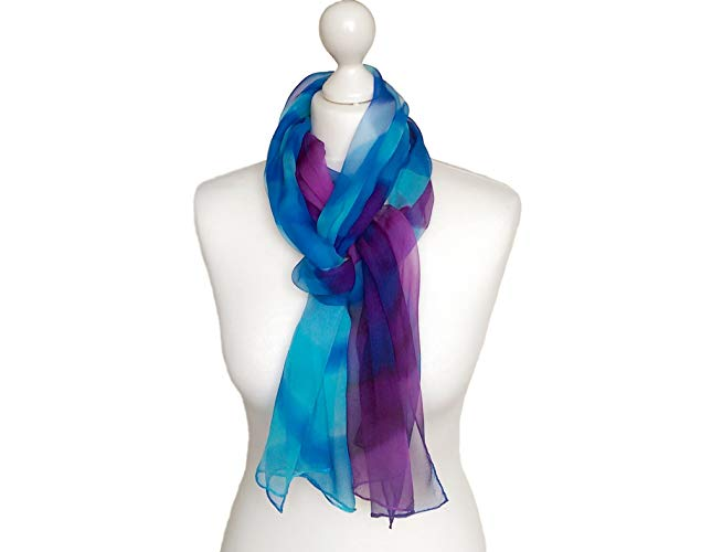 Amazon.com: Chiffon scarf - Lightweight scarf - Lightweight summer