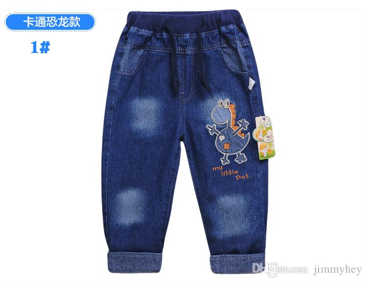 High Quality New Style Baby Girl'S Jeans Children Pants Kids Fashion