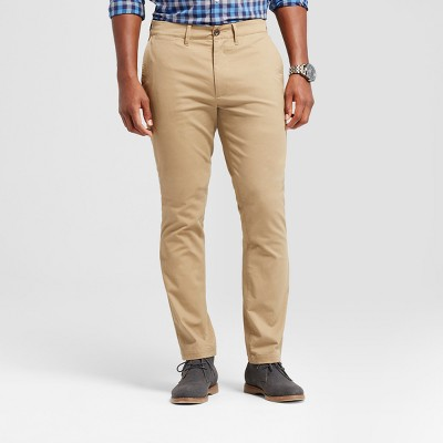 Men's Athletic Fit Hennepin Chino Pants - Goodfellow & Co™ Khaki