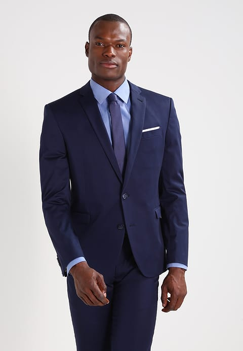 CINQUE CIMELOTTI - Suit dark blue Men Clothing Suits & Ties,cinque