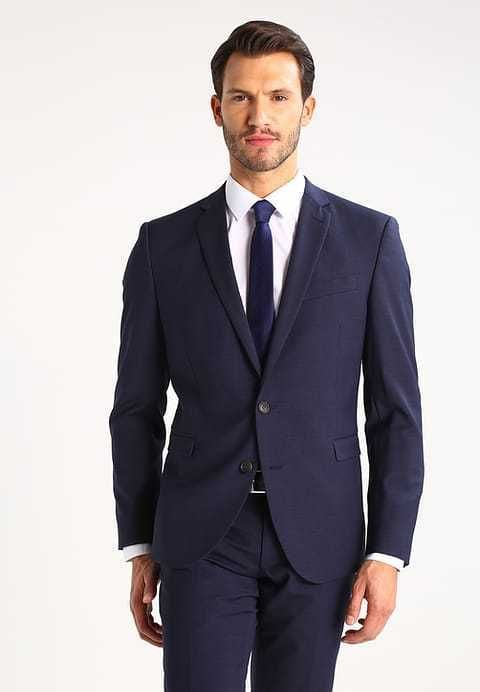 Cinque Cimelotti Dark Blue Slim Fit Suit Jacket 40L TD180 EE 08