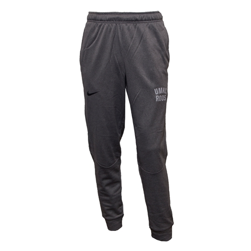 UMKC Bookstore - UMKC Roos Nike&reg 2018 Grey Closed Bottom Pants