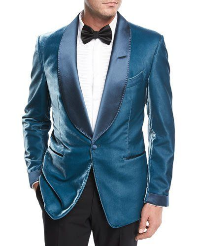 Tom Ford Shelton Liquid Velvet Evening Jacket | Products | Pinterest
