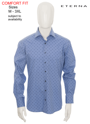 Modern Fit Casual Shirts Selector Page