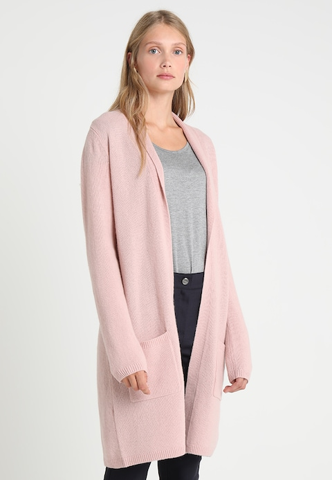 women comma Cardigan - rose