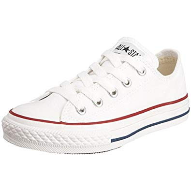 Amazon.com | Converse All Star Low Optical White Kids/Youth Shoes