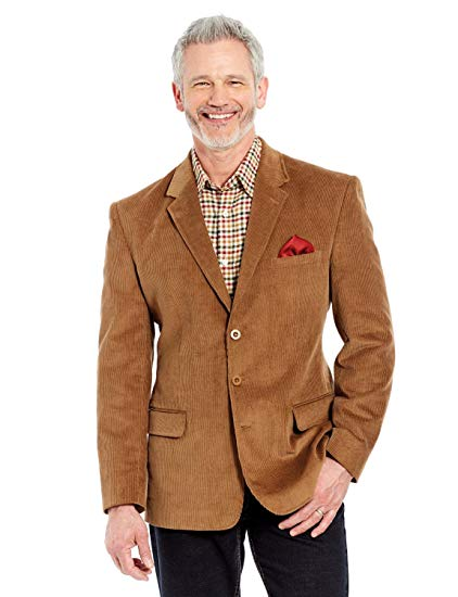 Mens Corduroy Jacket Blazer at Amazon Men's Clothing store: