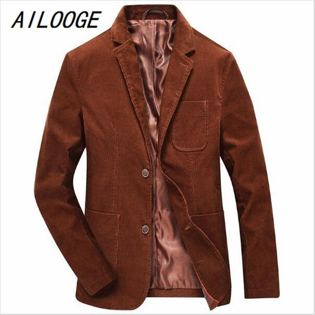 Aliexpress.com : Buy AILOOGE New Autumn Winter Men Corduroy Blazer