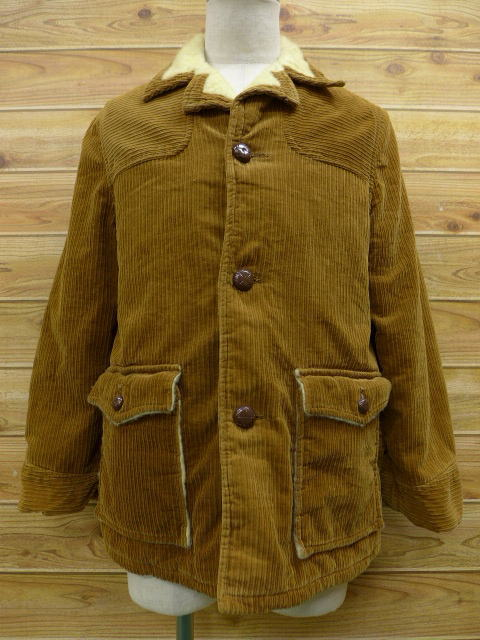 RUSHOUT: Vintage corduroy jackets Brown JACKET mens pre M size