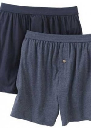 Amazon.com: PL® Big Mens 100% Cotton Knit Boxers (2 Pack) (Big