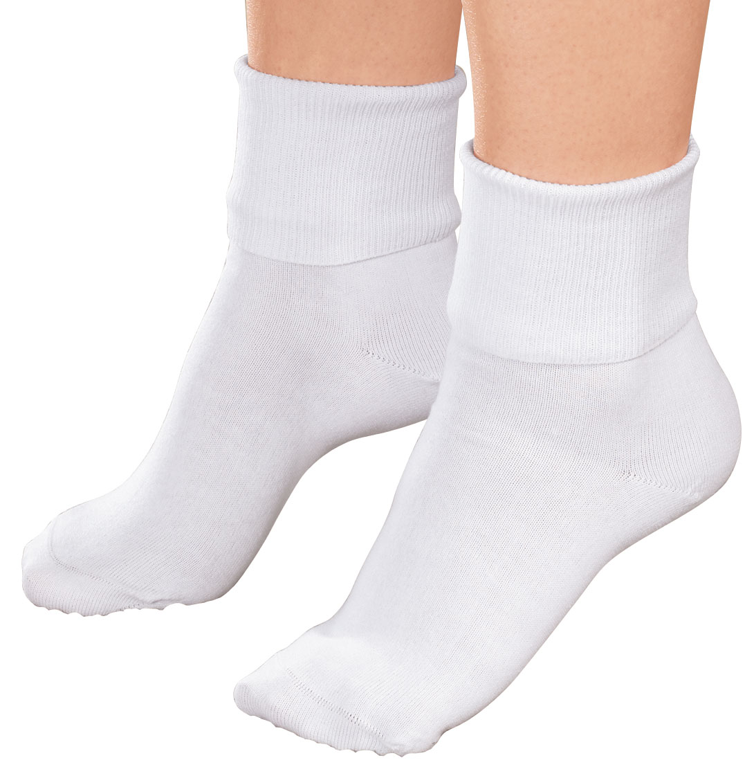 Prime Life Fibers - Buster Brown Women's 100% Cotton Socks - 3 Pair