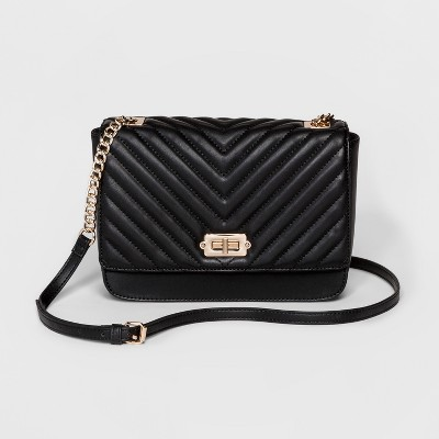 Women's Quilted Crossbody Bag - A New Day™ : Target