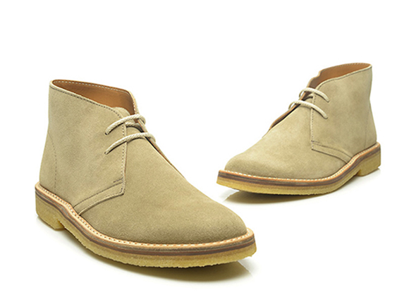 SHOEPASSION.com u2014 Classic desert boot in beige