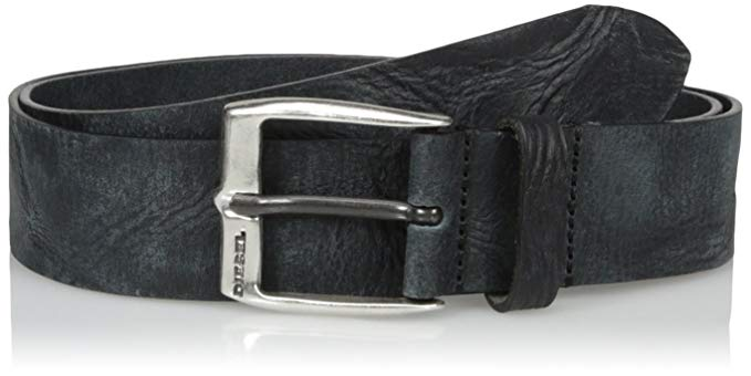 Amazon.com: Diesel Men's Whyz Leather Belt: Clothing