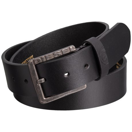 Diesel Mino1 Buffalo Leather Belt (For Men) - Save 58%