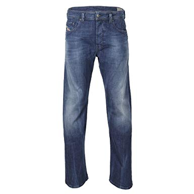 Diesel Herren Jeans Larkee 836X Relaxed - blue - 34/32: Amazon.co.uk
