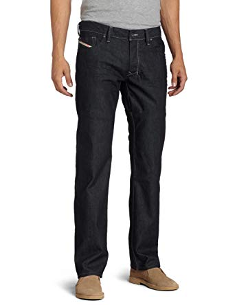 Diesel Men's Larkee Regular Straight-Leg Jean 0088Z at Amazon Men's