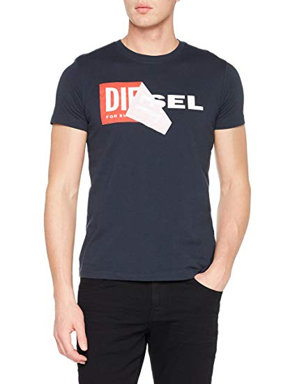 Diesel Men's T-Shirt: Diesel: Amazon.co.uk: Clothing