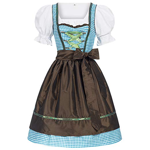 Amazon.com: Women's German Dirndl Dress Costumes for Bavarian