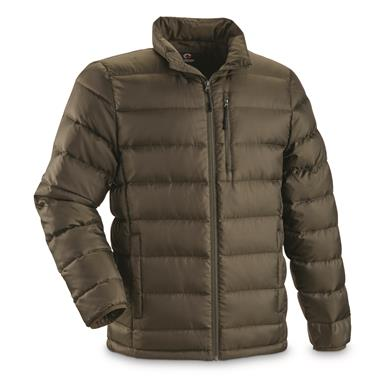 Guide Gear Men's Down Jacket - 673942, Insulated Jackets & Coats at