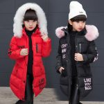 Down jackets for children