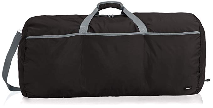 Amazon.com: AmazonBasics Large Duffel Bag, Black