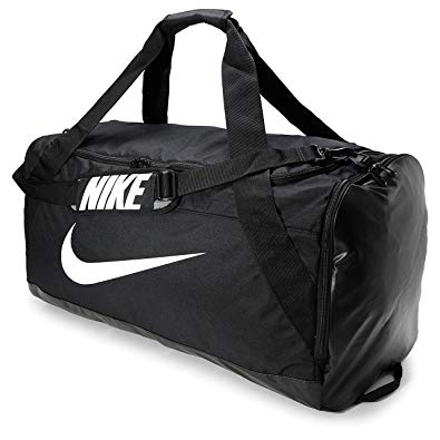 Amazon.com | Nike Brasilia Extra Large Duffel Bag Black/Black/White
