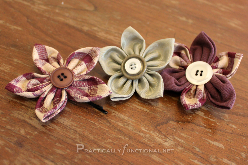 Fun Fabric Flowers!