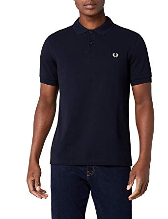 Amazon.com: Fred Perry Men's Slim-Fit Plain Polo Shirt: Clothing