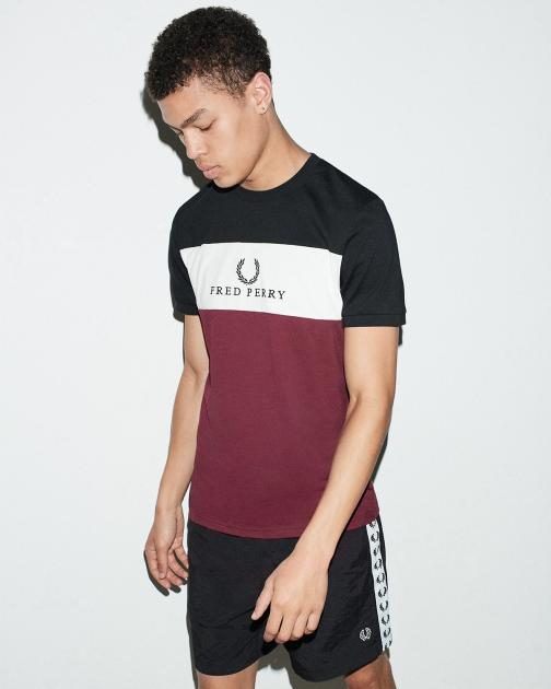 Men's T-Shirts | Designer T-Shirts for Men | Fred Perry US