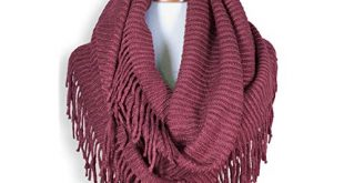 Fringed Scarf: Amazon.com