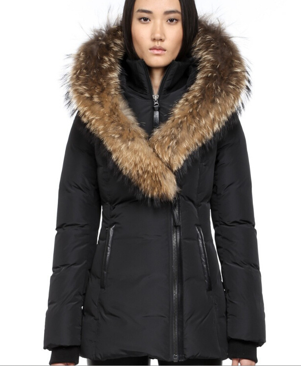 Fur Down Jackets for Women