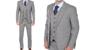 Gino Vitale Men's Suit (3-Piece) | Groupon Goods