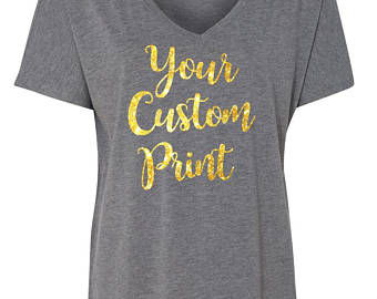 Custom glitter shirt | Etsy