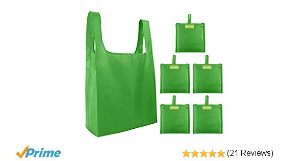 Amazon.com: BeeGreen Cute-Reusable-Grocery-Bags-Green-Eco Friendly