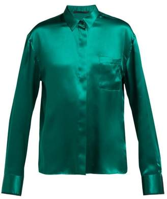 Green Blouse - ShopStyle