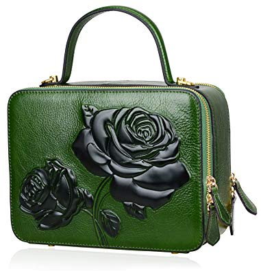 The handbag in green – variety of colors and shapes