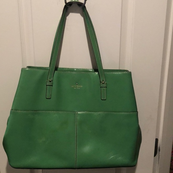 kate spade Bags | Green Purse | Poshmark