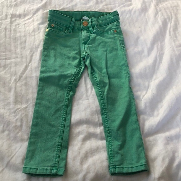 H&M Bottoms | Green Jeans | Poshmark