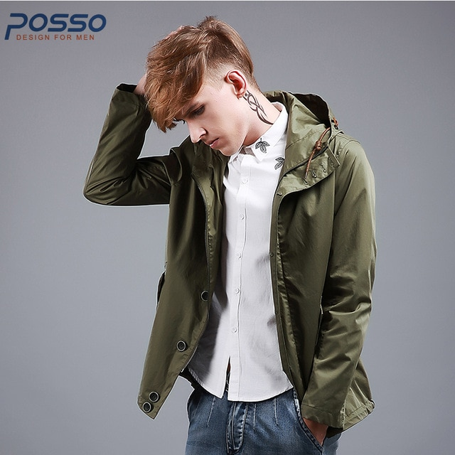 Military Men Jacket 2018 Autumn New Arrival Hot Sale Olive Green